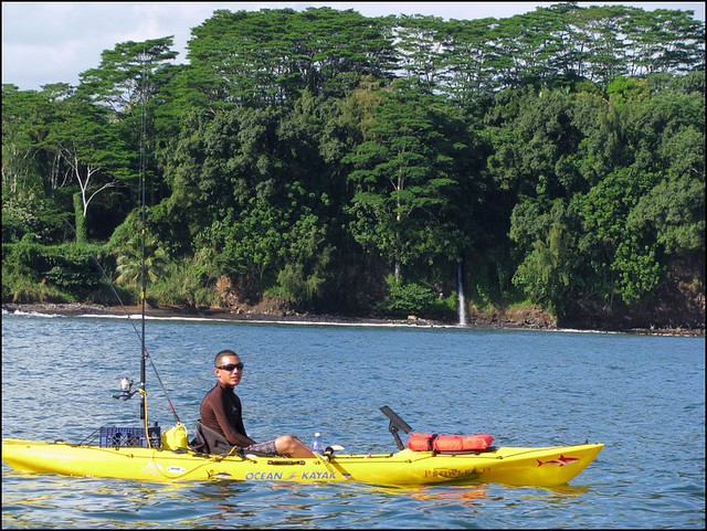 Kayak fishing hilo bay hawaii flickr photo sharing for Kayak fishing hawaii