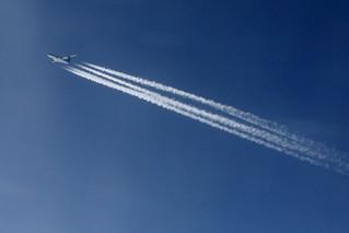 UPS Plane over Albania