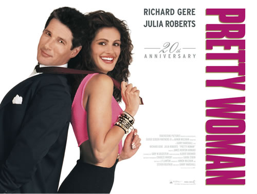 Uk re issue of pretty woman back in cinemas from 12 february 2010