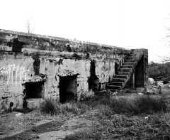 Battery Croghan, Fort San Jacinto, Galveston, Texas 0116101740BW