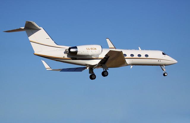 Gulfstream XA-RCM at KHOU