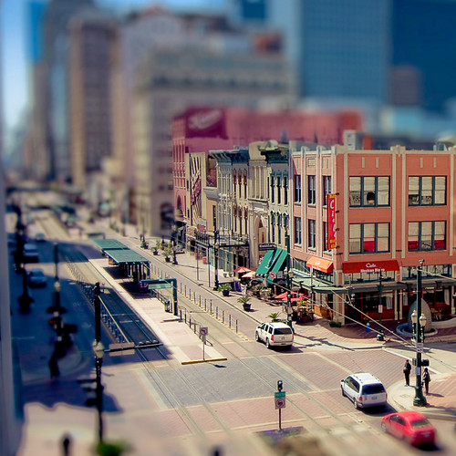 usa downtown texas main houston tiltshift 2010inphotos 3652010 365the2010edition 36612010