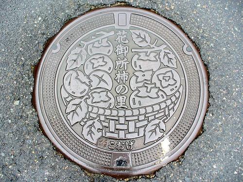 Koge Tottori manhole cover(鳥取県郡家町のマンホール)