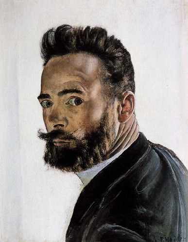 Hodler, Ferdinand (1853-1918) - Self Portrait