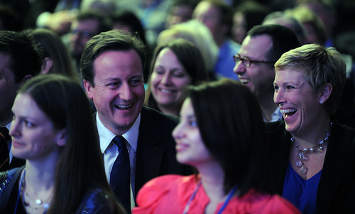 Spring Forum: David Cameron with Charlotte Vere, PPC Brighton Pavilion