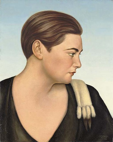 Portrait of Eva von Arnheim by Christian Schad German Artist