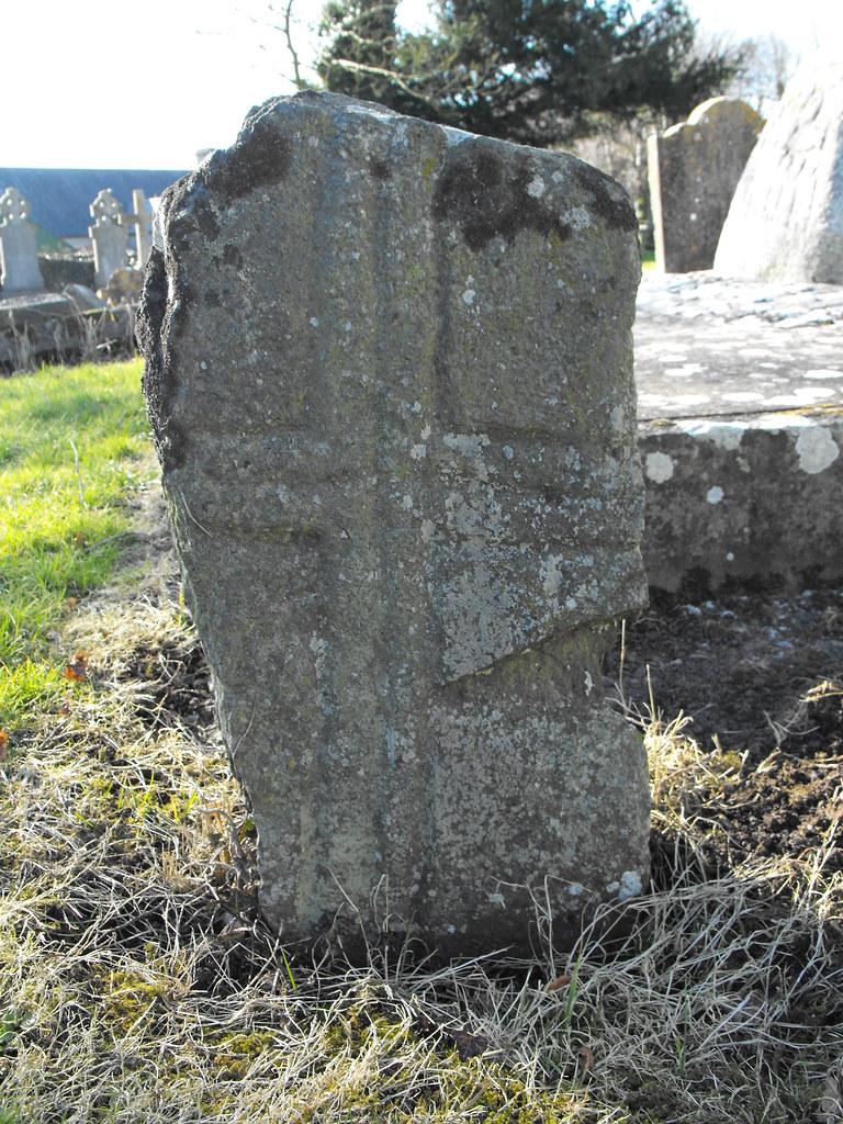 Granite Grave Slabs : The standing stone castledermot cross base slabs