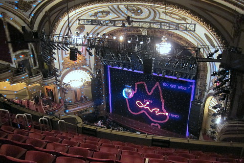 Seating at palace theater broadwayworld board for Balcony novello theatre