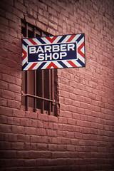 Alleyway Barbershop Sign