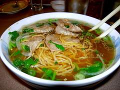 kimchi jjigae(0.0), nabemono(0.0), noodle(1.0), bãºn bã² huế(1.0), mi rebus(1.0), lamian(1.0), noodle soup(1.0), soto ayam(1.0), kuy teav(1.0), kalguksu(1.0), pho(1.0), food(1.0), beef noodle soup(1.0), dish(1.0), haejangguk(1.0), laksa(1.0), soup(1.0), cuisine(1.0),