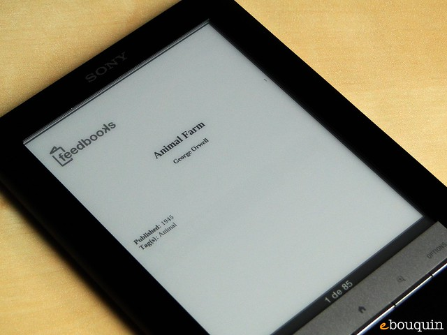 Sony Reader Touch Edition 38 sur 91