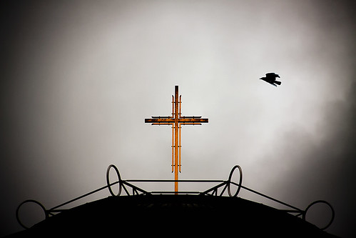 The crow and the cross