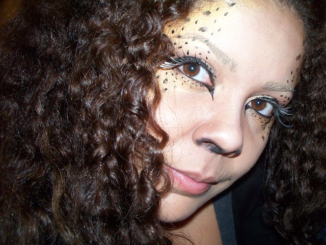 Cheetah Costume Makeup http://www.flickr.com/photos/cilla/4086921537/