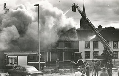 Brann på Øvre Bakklandet 38-42 (1982)