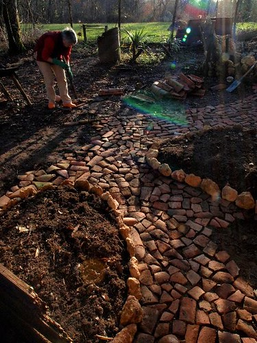 Sara's path de Compost heap