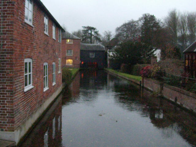 Working Silk Mill, working Overton to Whitchurch