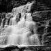 Kent Falls in B&W by BurningQuestion