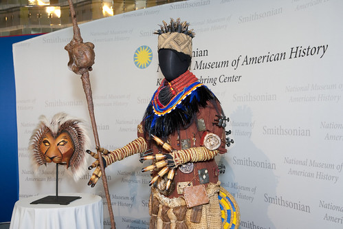 """The Lion King"" roars into the Smithsonian"