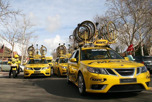 Mavic Support Team, Tour of California