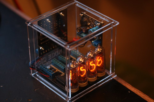 Nixie Clock Case