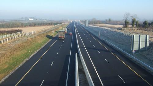 New motorway through Tipperary.
