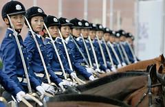 [フリー画像素材] 戦争, 兵士, 女性兵士, 観兵式, 北朝鮮軍 ID:201108211000
