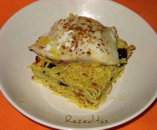 Rezeditas arroz hind con bacalao de madr s - Arroz blanco con bacalao ...