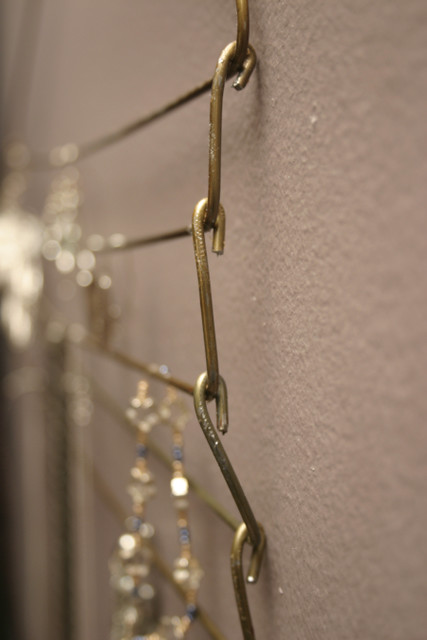 Upcycled Wire Hanger Jewelry Hanger Flickr Photo Sharing
