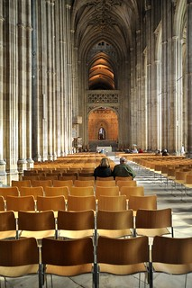 Canterbury Cathedral Worshippers