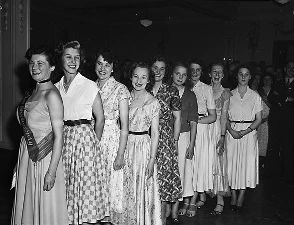 The 1952 Miss Shrewsbury Competition
