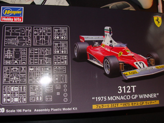 1/20 scale Fujimi Williams FW16 F1 racecar