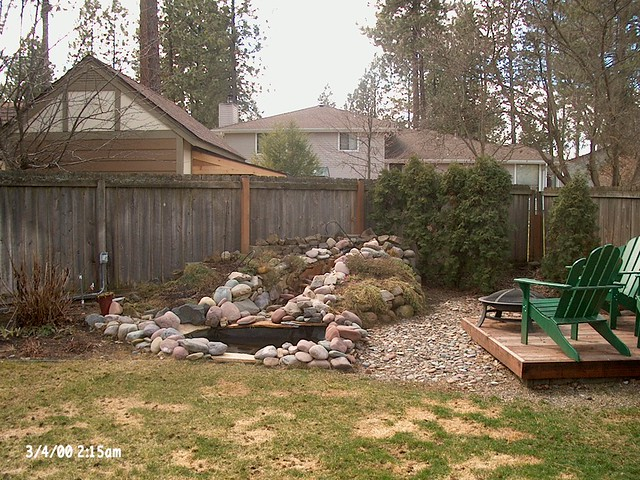 Home Style Choices Backyard Water Feature