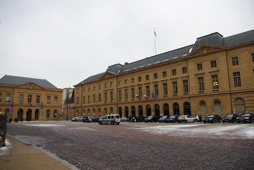 Place de l'hôtel de ville à Metz