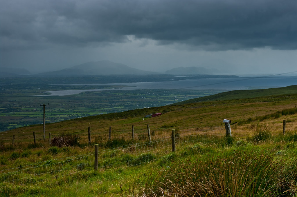 View from Slieve Mish Mountains by Andrew Bennett