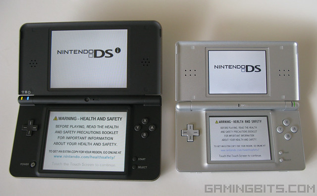 nintendo dsi xl bronze vs nintendo ds lite from gamingb flickr photo sharing. Black Bedroom Furniture Sets. Home Design Ideas