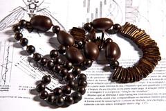 buddhist prayer beads(0.0), bracelet(0.0), art(1.0), jewelry making(1.0), brown(1.0), jewellery(1.0), produce(1.0), necklace(1.0), bead(1.0),