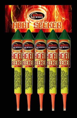 Epic Fireworks - heat seeker rocket pack by Marvel Fireworks