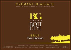 Add a photo for Domaine Bott-Geyl Cremant d'Alsace NV