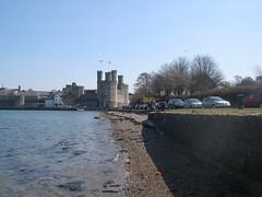 Caernarfon, Fort Belan and Llanarmon Dyffryn Ceiriog