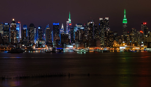 St. Patrick's NYC Skyline
