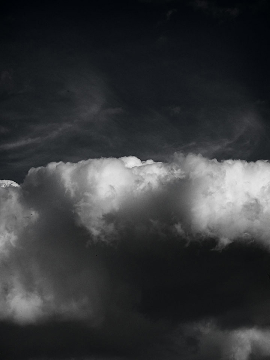 Dark Clouds - Cloud Overhang by Nicholas M Vivian