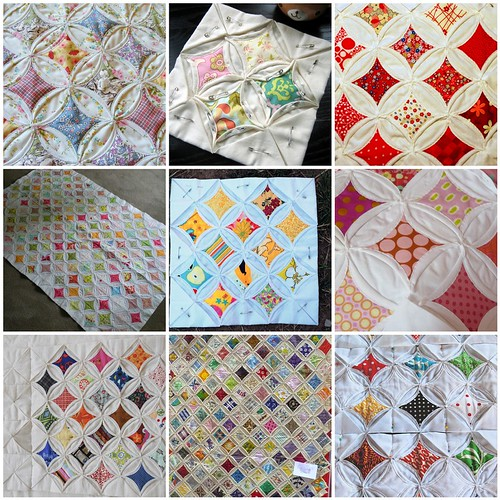 Cathedral Window Quilt Inspiration