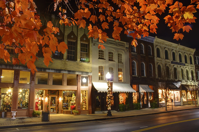 franklin romantic small towns