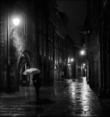 rainy night in Santiago
