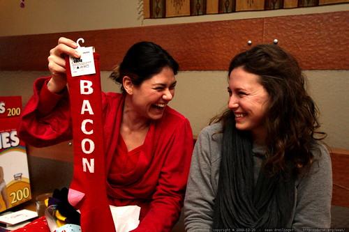 bacon socks   sisters giving sisters classy hosiery