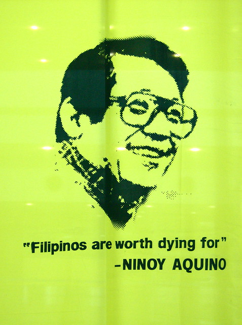"""The Filipino is Worth Dying For"" (What Ninoy really said)"