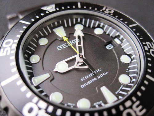 Herculodge Pulled The Trigger On A Seiko Gunmetal Kinetic Diver
