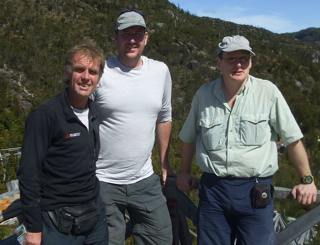 1 Intrepid team at Tortel (John, Cory, Martin)