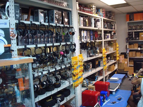 Jaben, best headphone store ever