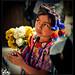 Little flowergirl, Guatemala